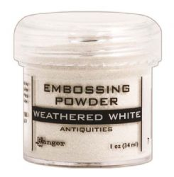 Ranger - Specialty 2 Embossing Powders Antiquities - Weathered White